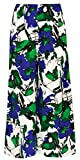 French Palazzo Pant Blue Floral 10