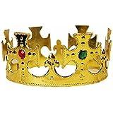 王冠 コスチューム用小物 ゴールド 男女共用 フリーサイズ