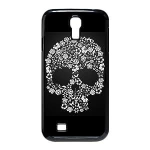AKLPHONECASE Skull Pattern Plastic Hard Case For Samsung Galaxy S4 i9500 [Pattern-6]