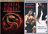 Video Games and Real Life Ninjas: Mortal Kombat/ Mortal Kombat Annihilation & Bloodsport/ Ninja Assassin 4-DVD Quadruple Feature Bundle