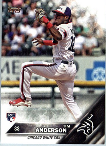 2016 Topps Update #US287 Tim Anderson Chicago White Sox Baseball Rookie Card