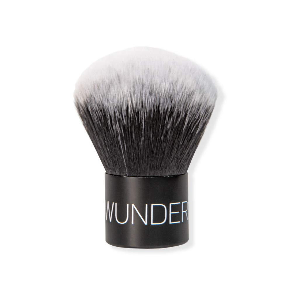 WUNDER2 KABUKI Brush For A Perfect Finish With Powder Makeup: Wunderbrow: Beauty