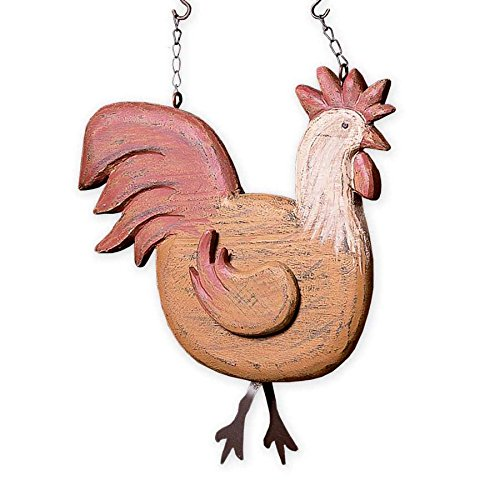 Rooster Hanging Decorative Sign (Hanging Rooster)