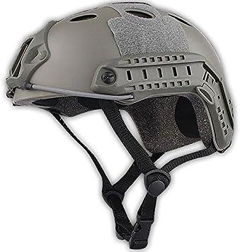 H mundo UE Airsoft t/áctico Estilo Militar SWAT combate PJ tipo Casco Fast con gafas de protecci/ón para los ojos Paintball