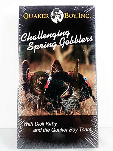 CHALLENGING SPRING GOBBLERS vhs movie -