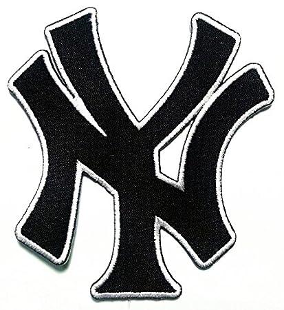 f5c28a30fb885 Amazon.com: NY New York City State Yankee Letter USA Sport Logo ...