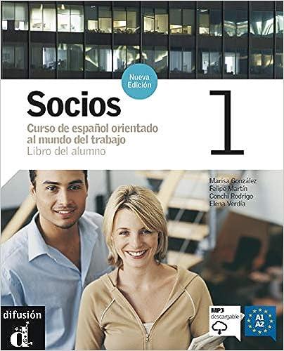 Libro PDF Gratis Socios. Libro Del Alumno. Con Cd Audio.: Socios 1. Nueva Edición. Libro Del Alumno + Mp3 Descargable