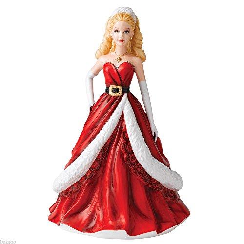 Doulton Figurine Birthday Royal (Royal Doulton Holiday Barbie Pretty Ladies Christmas Figurine 2011 Brand New)
