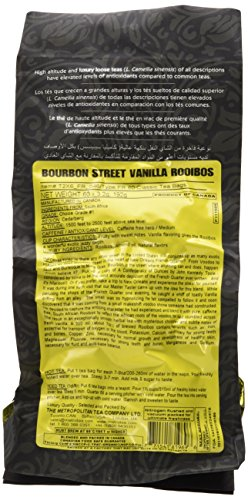 Metropolitan Tea 60 Count Classic Teabags, Bourbon St. Vanilla