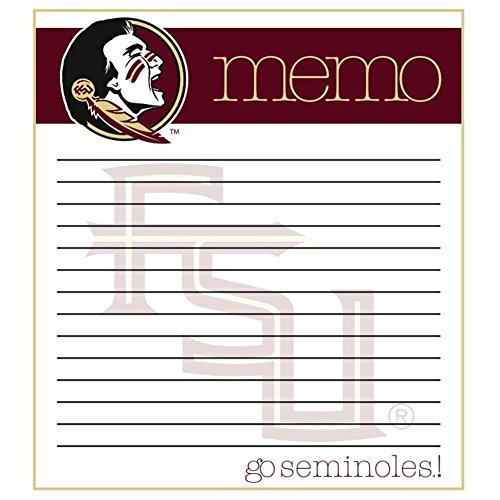 Florida Seminoles Paper State - The Fanatic Group Florida State Seminoles Memo Note Pad - 2 Pads