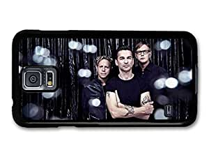 AMAF ? Accessories Depeche Mode Band Portrait Shining case for Samsung Galaxy S5