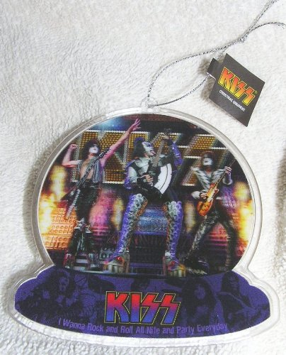 Image Unavailable. Image not available for. Color: Kiss Rock Band  Lenticular Christmas Ornament - Amazon.com: Kiss Rock Band Lenticular Christmas Ornament: Home & Kitchen
