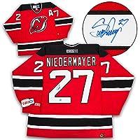 Scott Niedermayer New Jersey Devils Autographed Retro CCM Hockey Jersey