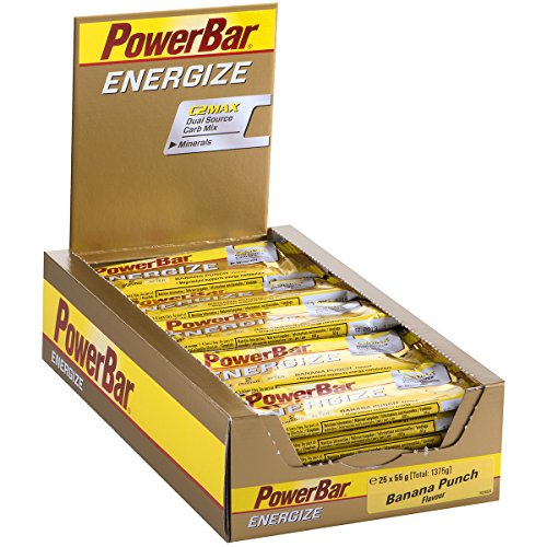 Powerbar Energize Banana Punch Riegel, 25er Pack (25 x 55 g)