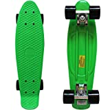 Rimable Complete 22' Skateboard (Green & Black)