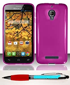 Cerhinu Accessory Factory(TM) Bundle (the item, 2in1 Stylus Point Pen) For Alcatel One Touch Fierce 7024T (T-Mobile) TPU...