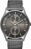 Swatch SKW6180 40mm Grey Steel Bracelet & Case Mineral Men's Watch
