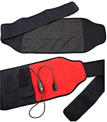 WELL-DAY Multi-Purpose Graphene Far Infrared Warm Therapy Heat Therapy Wrap, Electric Heating Pad, Pain Relief Support