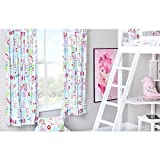 Hello There Design Children's Bedroom Curtains 66'x 54' with Tie Backs