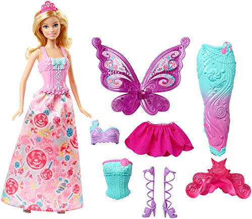 Barbie Fairytale Dress Up, Blonde (Packaging May Vary) from Barbie
