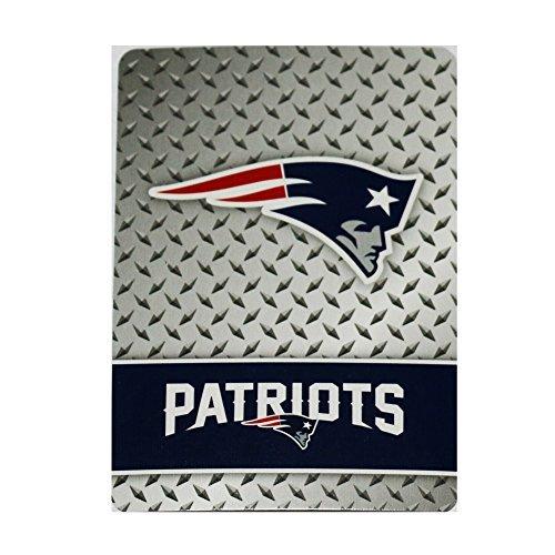 England Patriots Diamond Plate Playing Cards by Pro Specialties Group