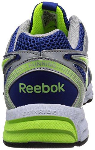 Reebok hombres Pheehan Run 2,0 TX Zapatillas - Royal/Yellow/Silver/White