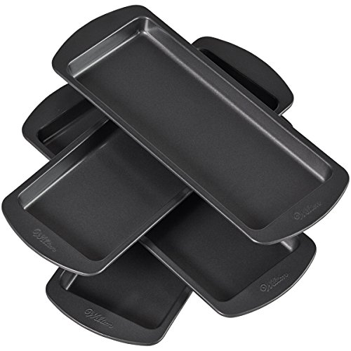 Wilton Easy Layers! 10 x 4-Inch Loaf Cake Pan Set, 4-Piece