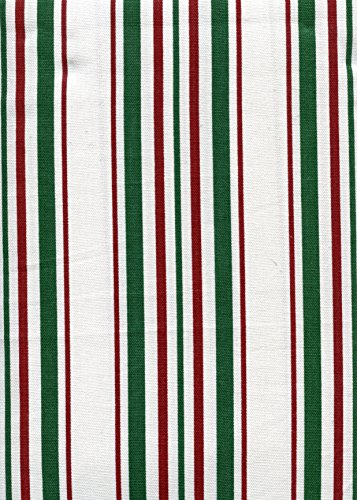 Ralph Lauren Noel Stripe Holiday Tablecloth, 60-by-120 Inch Oblong Rectangular - Ralph Lauren Contemporary Table