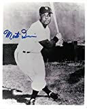 Monte Irvin Signed 8X10 Photo Autograph New York Giants w/Bat COA Auto