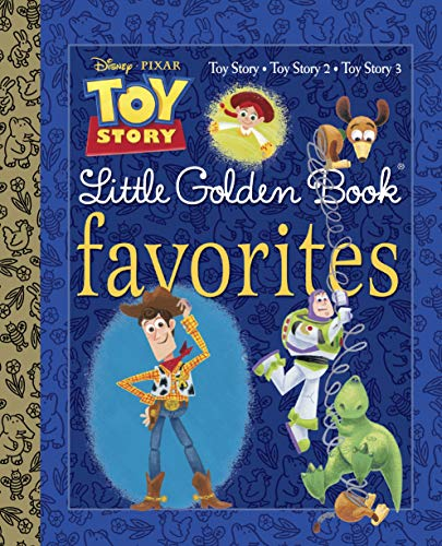 Toy Story Little Golden Book Favorites (Disney Pixar Toy Story) 0b48a9dcf5f