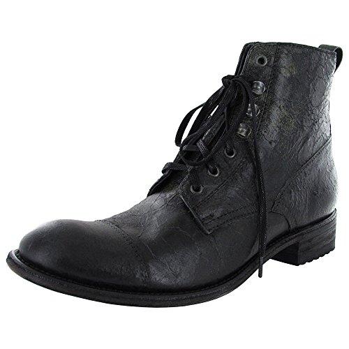 Donald J Pliner Hommes Kava-58 Lacets Bottine Chaussure Noire
