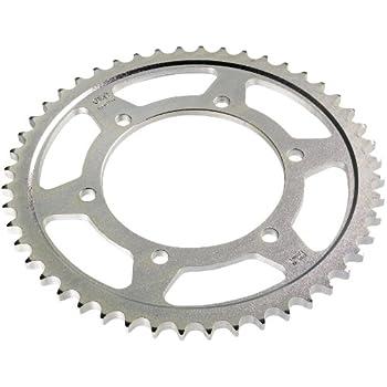 Sunstar 2-102244 44-Teeth 420 Chain Size Rear Steel Sprocket