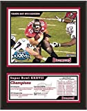 "Tampa Bay Buccaneers 12"" x 15"" Sublimated Plaque - Super Bowl XXXVII - NFL Team Plaques and Collages"