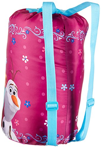 Disney Frozen Anna and Elsa Slumberbag, 30 X 54, Pink by Jay Franco (Image #3)
