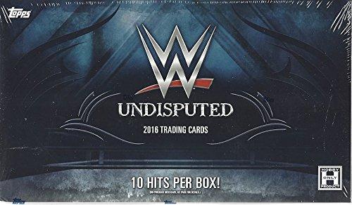 (2016 Topps WWE 'Undisputed' Wrestling HOBBY box (10 pk))