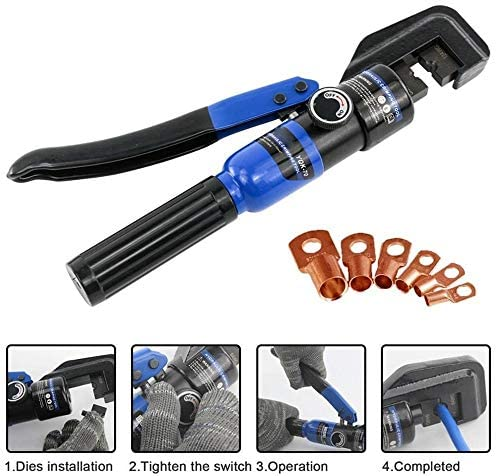 Hydraulic Crimping Tool Cable Lug Crimper Plier Hydraulic Compression Tool YQK-70 4-70mm2 Pressure 5-6T Widely Application