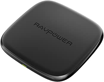 RAVPower Qi 10-watt Fast Wireless Charger with Charging Pad
