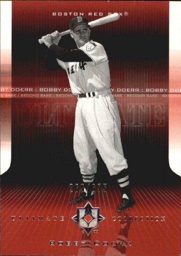 2004 Ultimate Collection Baseball Card #6 Bobby Doerr Near Mint/Mint