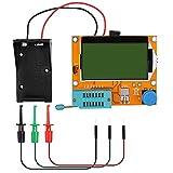 12864 Mega328 ESR Transistor Resistor Diode Capacitor Mosfet Tester w/Test hook