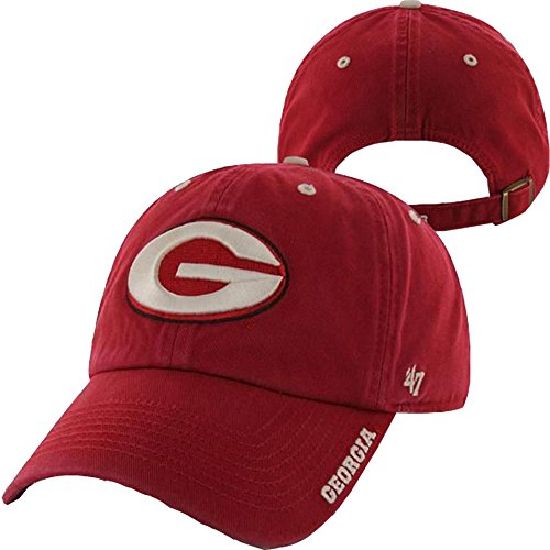 Georgia Bulldogs Red Ice Clean Up Hat - NCAA '47 Baseball Ca