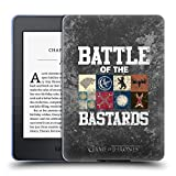 Official HBO Game of Thrones Distressed Text & Sigils Battle of The Bastards Soft Gel Case Compatible for Kindle Paperwhite 1/2 / 3