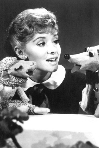 (Shari Lewis 24x36 Poster with Lamb Chop and Charlie Horse)