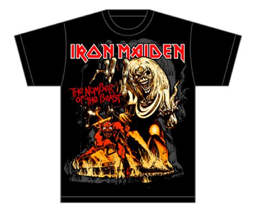 Global Maiden Number Beast T Shirt product image