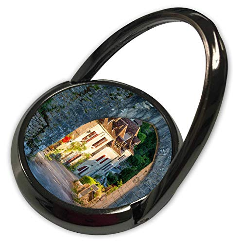 (3dRose Danita Delimont - France - Homes at Entry gate to Saint-Cirq-Lapopie, Midi-Pyrenees, France - Phone Ring (phr_313109_1))