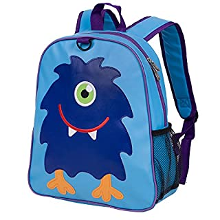 Wildkin Embroidered Backpack, Features Appliqued Design and Adjustable Straps, Perfect for Preschool, Daycare, and Day Trips, Olive Kids Design – Monster (B06XC6P8JW)   Amazon Products
