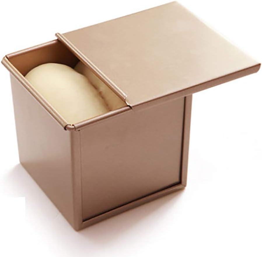 molde para hornear pan herramienta de pasteler/ía molde para hornear pan molde de hojalata J-ouuo Molde antiadherente para tostadas y tostadas con tapa