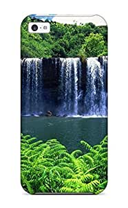 linJUN FENGFor Iphone Case, High Quality A Secret Waterfall For iphone 6 plus 5.5 inch Cover Cases