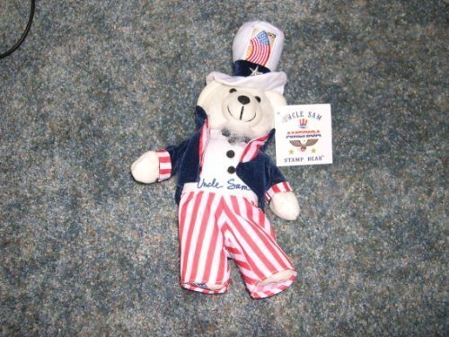 Collectible Uncle Sam Stamp Bear by (Uncle Sam Bear)