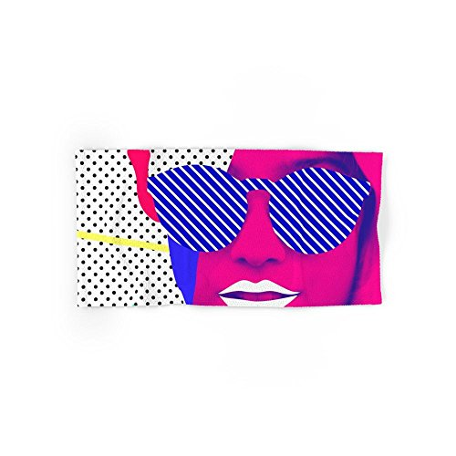Society6 Pop Glasses Hand Towel - Lookbook Glasses