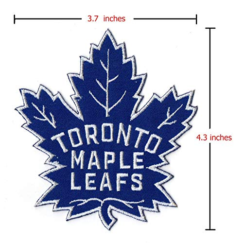 (Toronto Maple Leafs NHL Sport Logo Embroidery Iron,Sewing,Patch on Clothes )